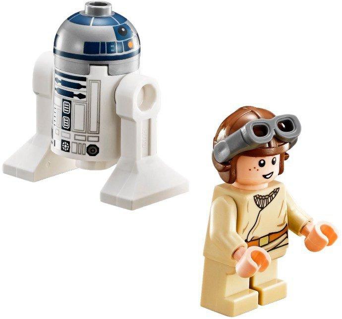 R2-D2 and Anakin Skywalker