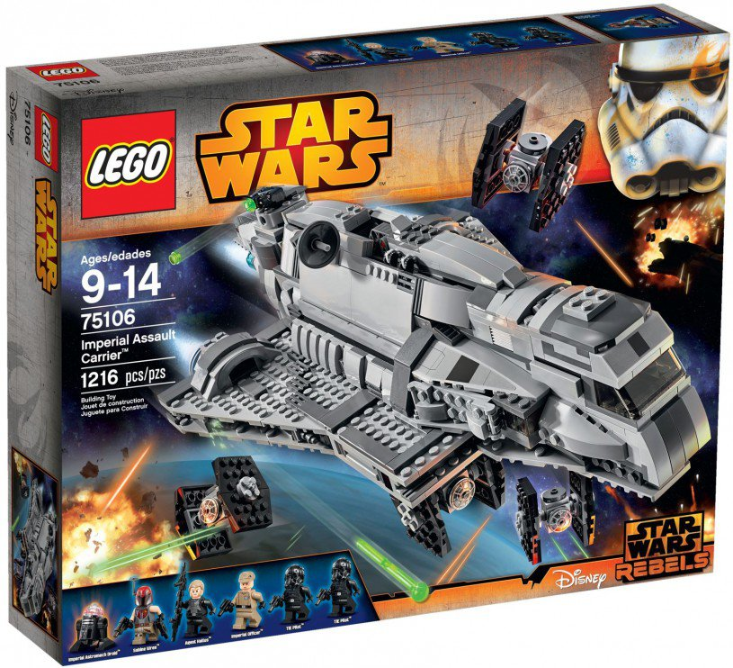 LEGO 75106 Star Wars Assault Carrier