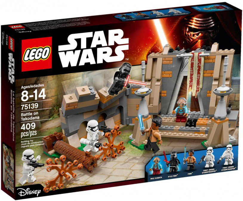 LEGO Star Wars - Battle on Takodana 75139