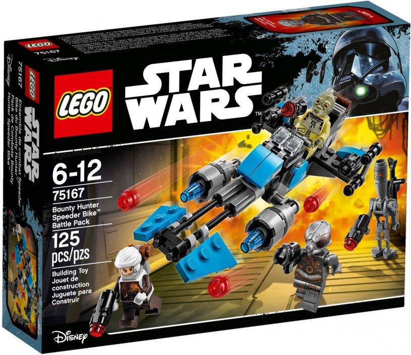 LEGO 75167 Star Wars: Bounty Hunter Speeder Bike Battle Pack