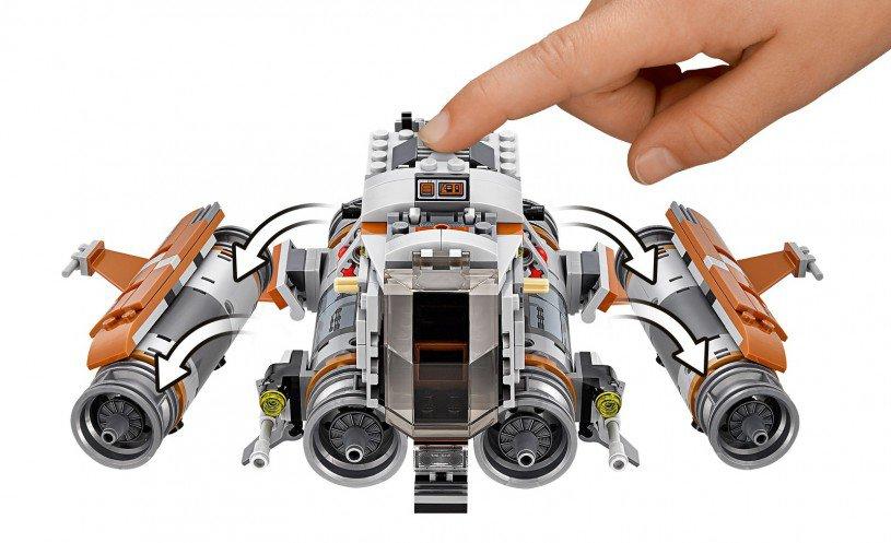LEGO 75178 Star Wars: Jakku Quadjumper