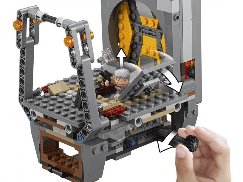 LEGO 75180 Star Wars: Rathtar ontsnapping