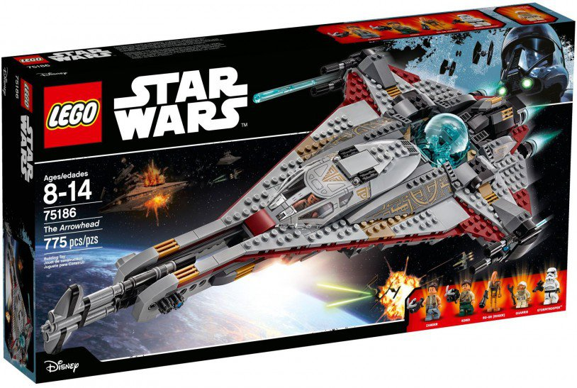 LEGO 75186 Star Wars: De Arrowhead