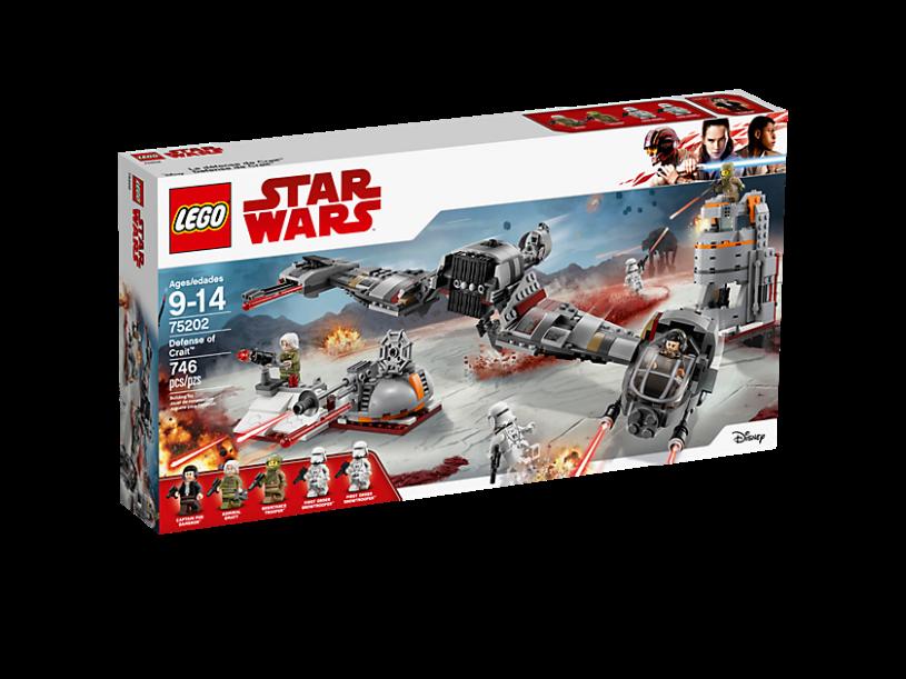 LEGO 75202 Star Wars: Verdediging van Crait