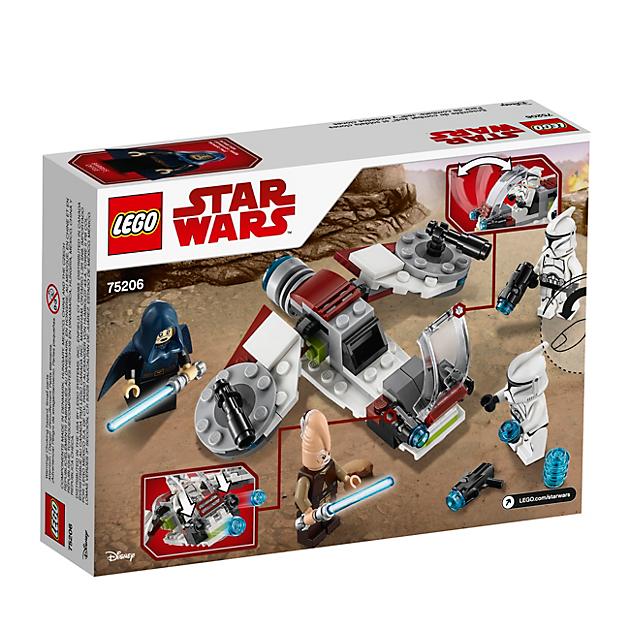LEGO 75206 Star Wars: Jedi en Clone Troopers Battle Pack