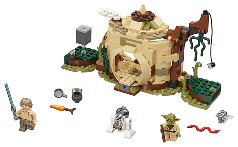 LEGO 75208 Star Wars: Yoda`s hut