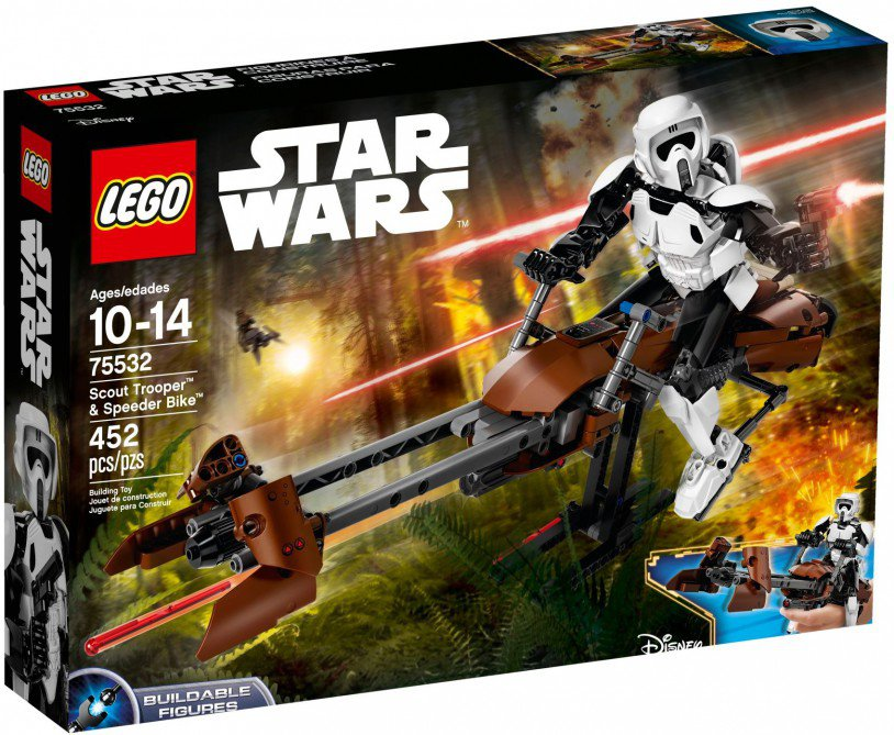 LEGO 75532 Star Wars: Scout Trooper & speederbike