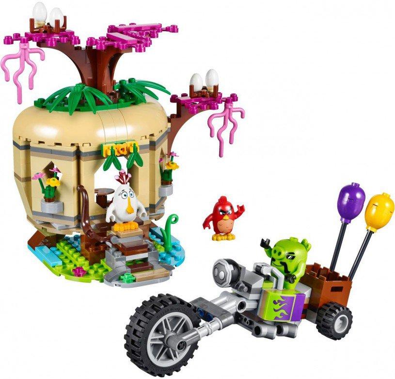 LEGO Angry Birds Bird Island Eierenroof 75823
