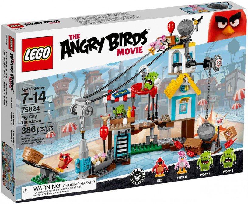 LEGO Angry Birds Pig City Sloopfeest 75824