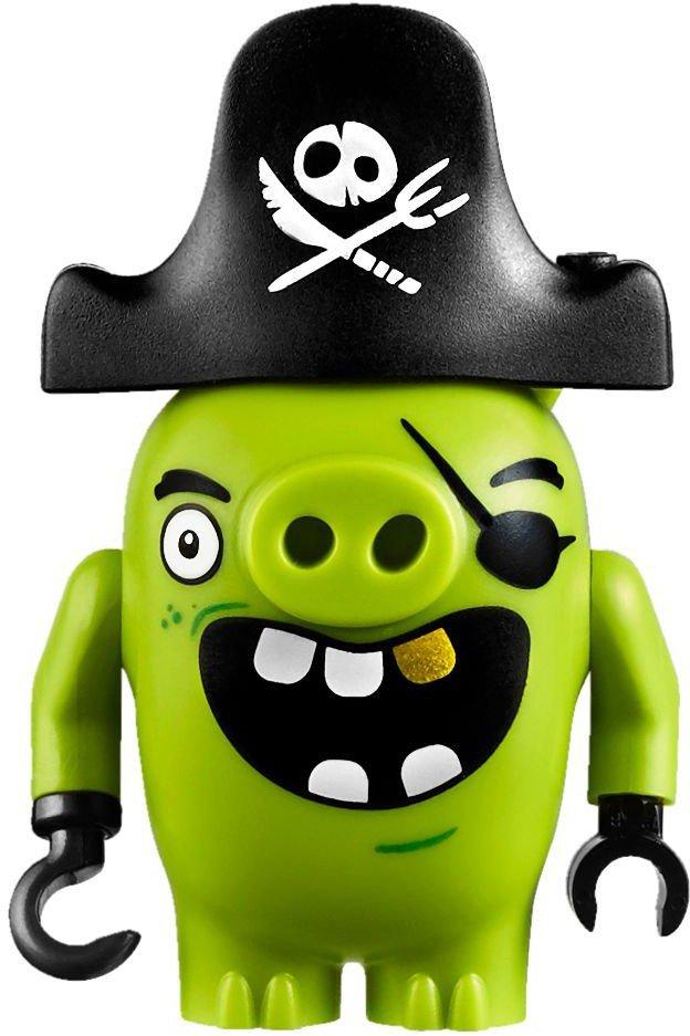 LEGO Angry Birds Piggy Piratenschip 75825