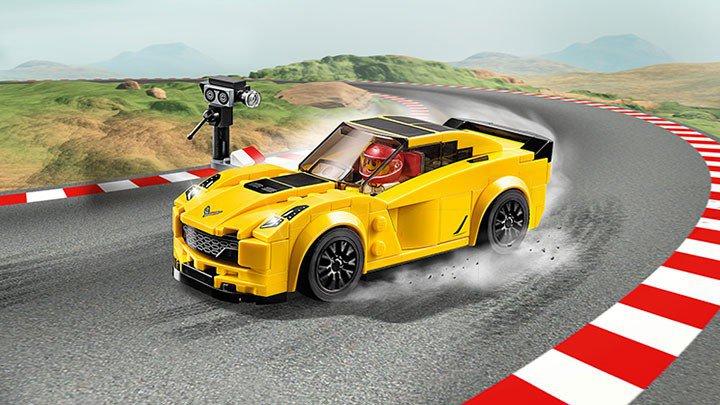 LEGO Race Auto Chevrolet Corvette Z06 75870