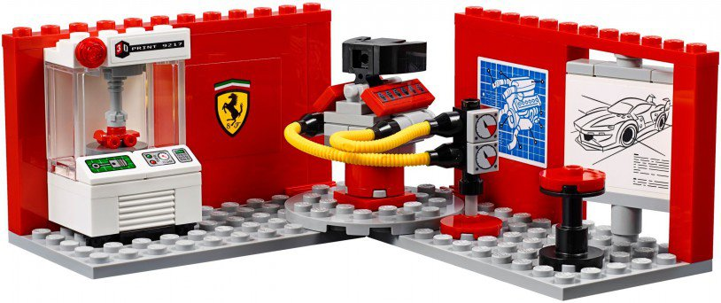 LEGO 75882 Speed Champions Ferrari FXX K & Development Center