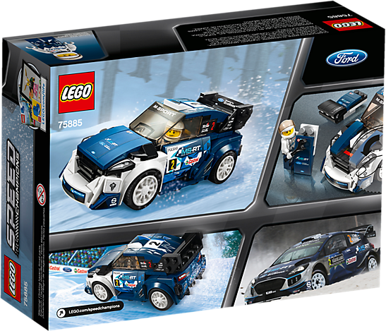 LEGO 75885 Speed Champions: Ford Fiesta M-Sport WRC