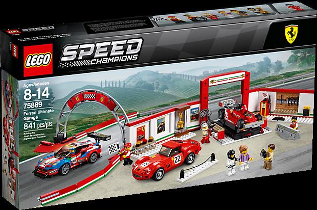LEGO 75889 Speed Champions: Ultieme Ferrari garage