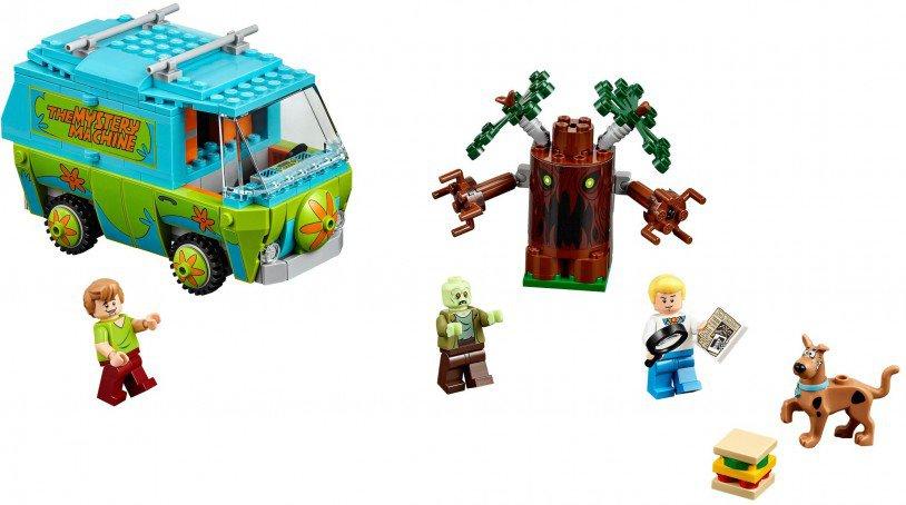 LEGO Scooby-Doo De mysterie-machine 75902