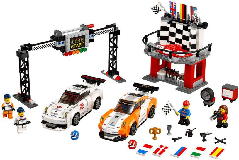 LEGO Speed Champions - Porsche 911 GT Finish Line 75912