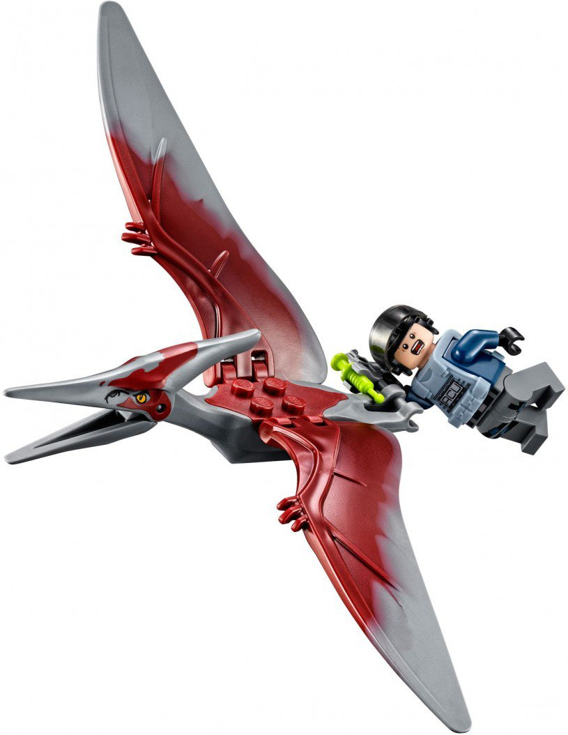 LEGO 75915 Jurassic World Pteranodon Vangst