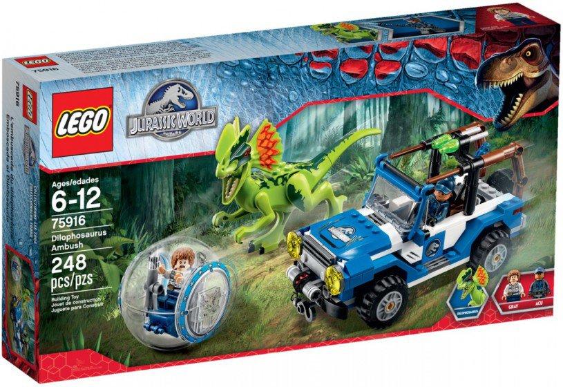 LEGO Jurassic World - Dilophosaurus Hinderlaag 75916