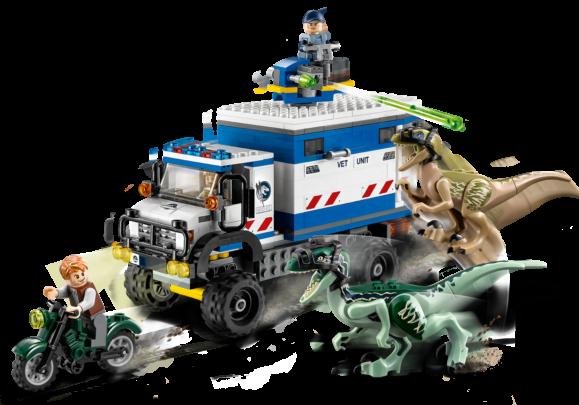 LEGO Jurassic World - Raptor Rooftocht 75917