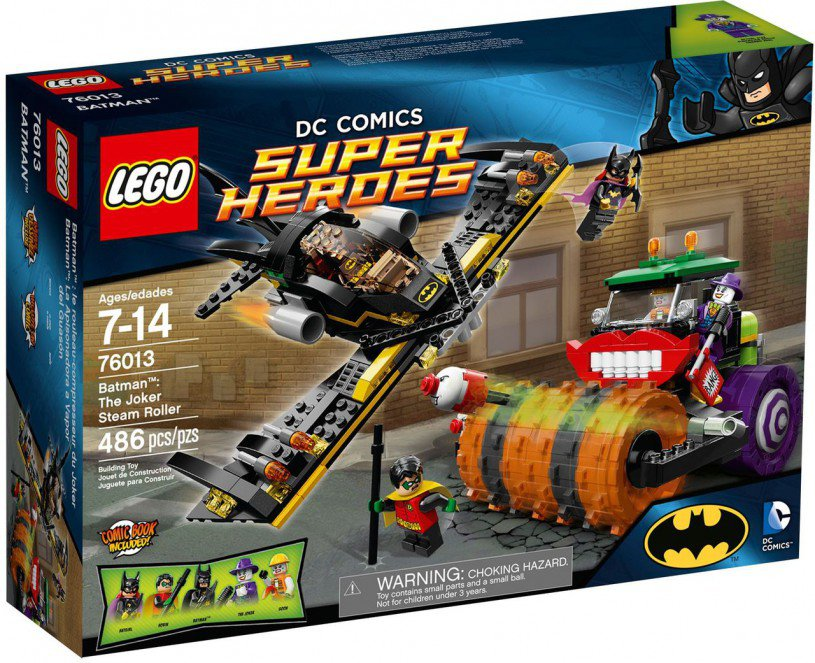 LEGO Super Heroes - Batman: The Joker Steam Roller 76013