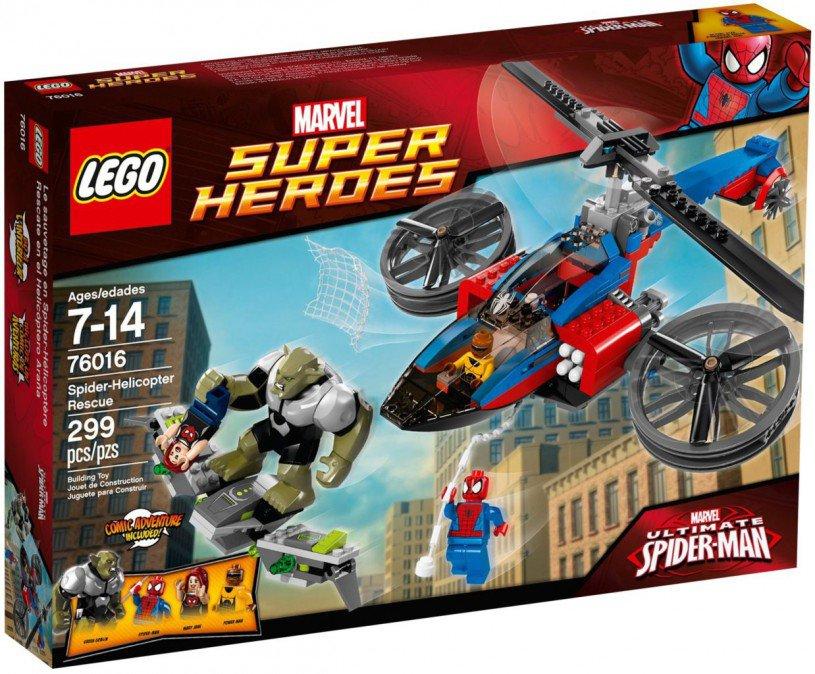 LEGO Marvel Super Heroes - Spiderman Helikopter 76016