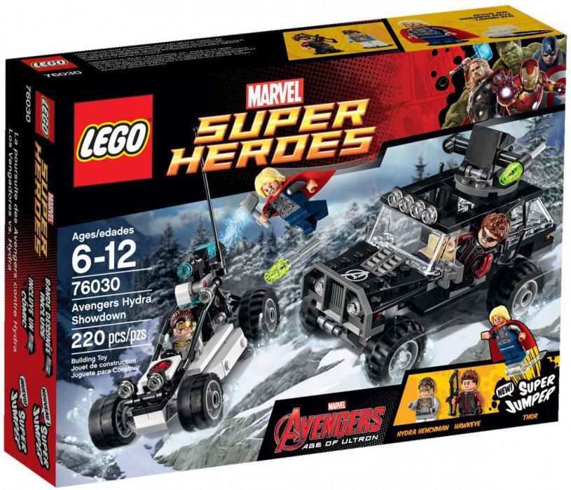 LEGO Marvel Super Heroes Avengers Hydra Showdown 76030