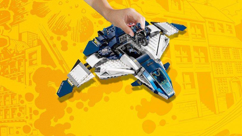 LEGO Avengers Quinjet Achtervolging 76032