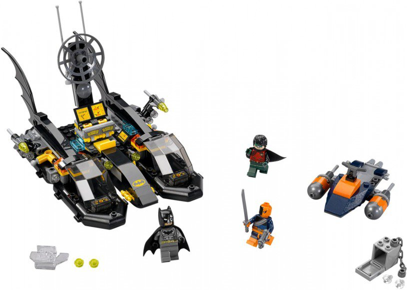 LEGO Super Heroes Batboot Havenachtervolging 76034