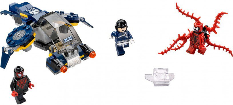 LEGO 76036 Super Heroes Carnage's SHIELD Luchtaanval
