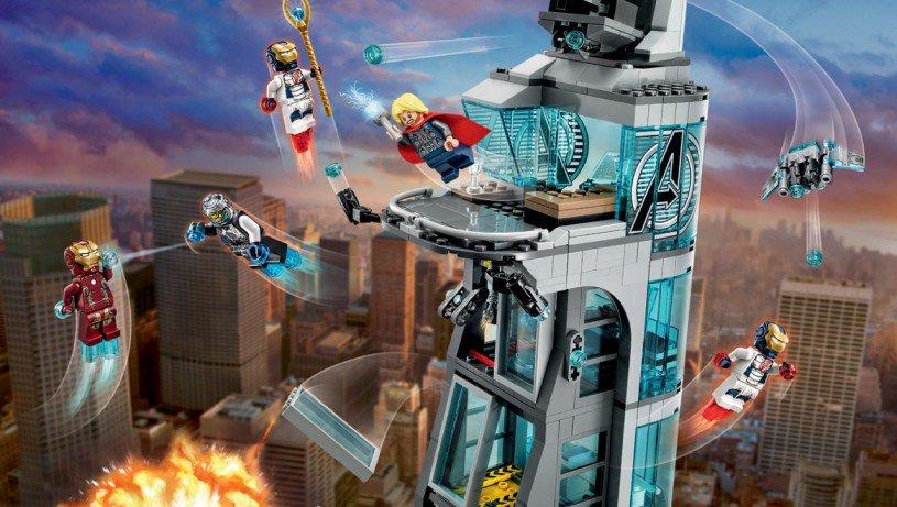 LEGO Marvel Aanval op de Avengers toren 76038