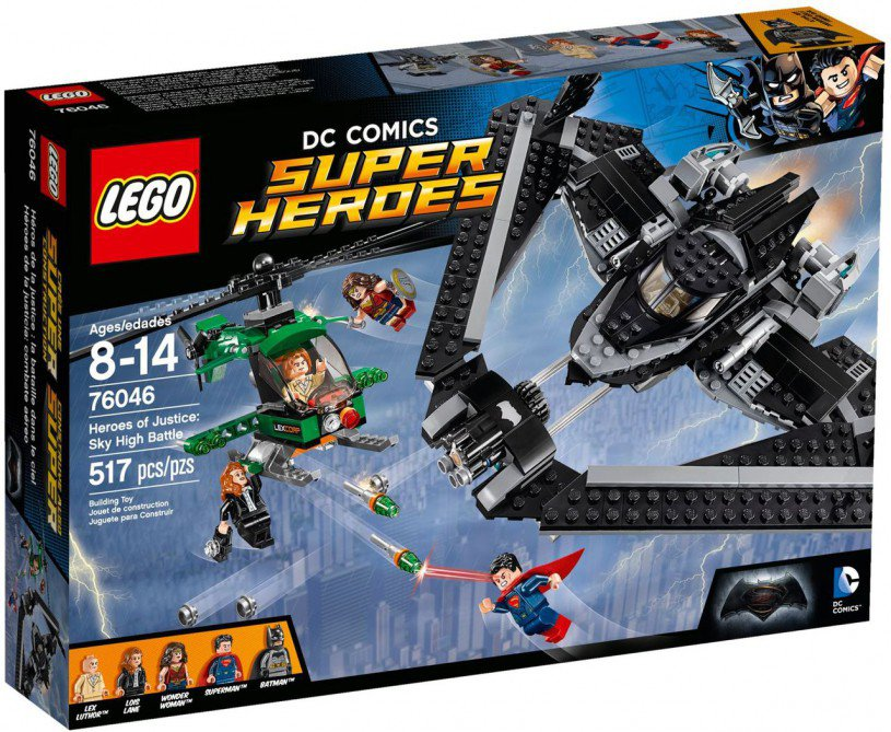 LEGO Super Heroes of Justice Luchtduel 76046