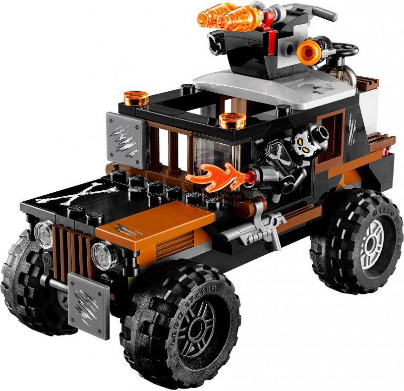 LEGO 76050 Crossbones' Gifdiefstal