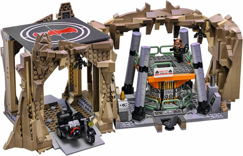LEGO Batcave bekend van Batman Classic TV Series 76052