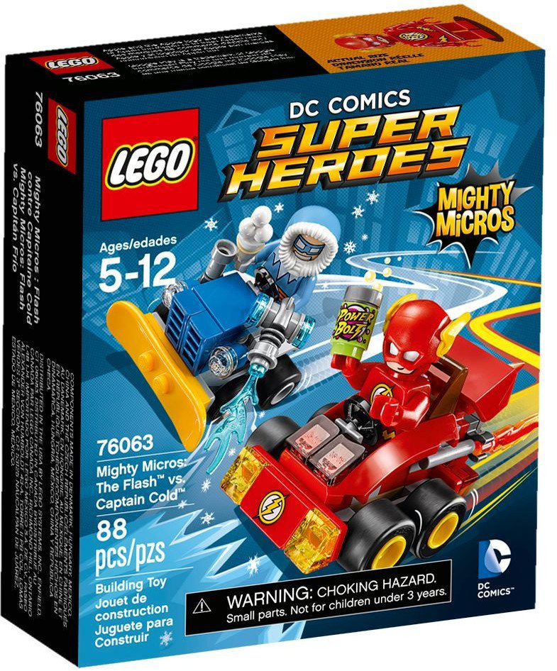 LEGO Mighty Micros The Flash vs Captain Cold 76063