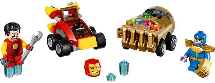 LEGO 76072 Mighty Micros: Iron Man vs. Thanos