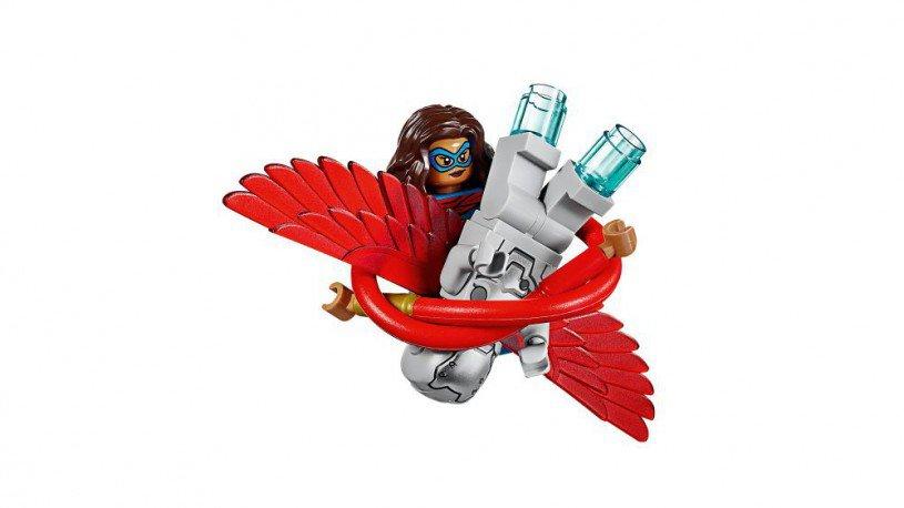 LEGO 76076 Captain America jet-achtervolging