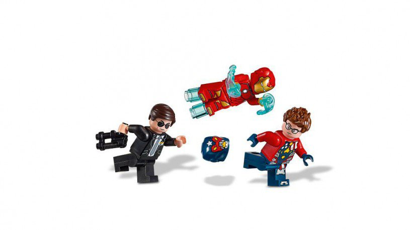 LEGO 76077 Iron Man: Detroit Steel valt aan