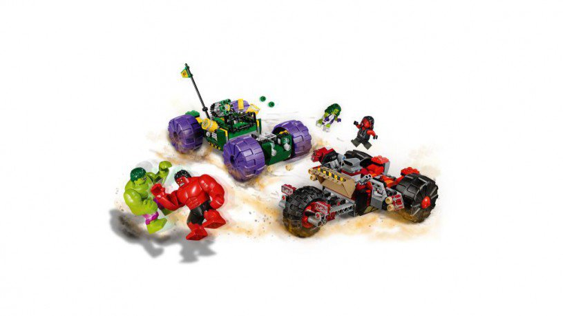 LEGO 76078 Hulk vs. Red Hulk
