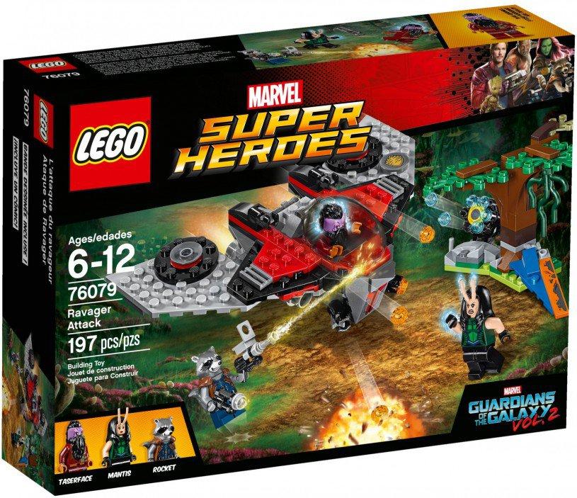 LEGO 76079 Super Heroes Ravager Attack Doos