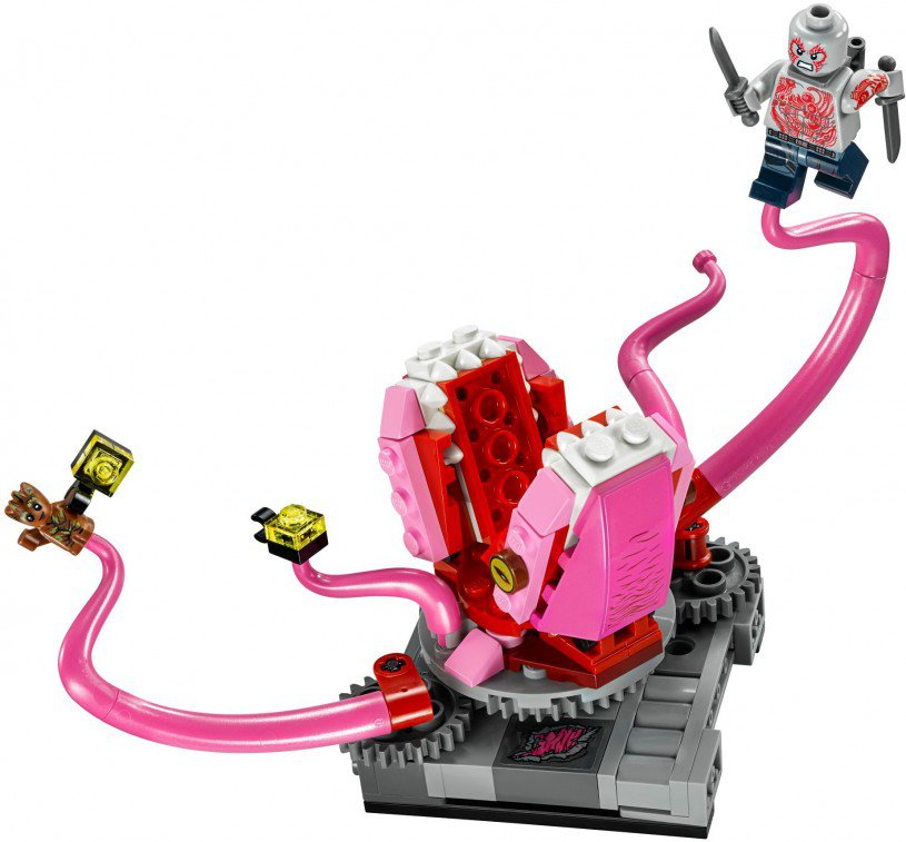 LEGO 76081 Super Heroes The Milano vs. The Abilisk