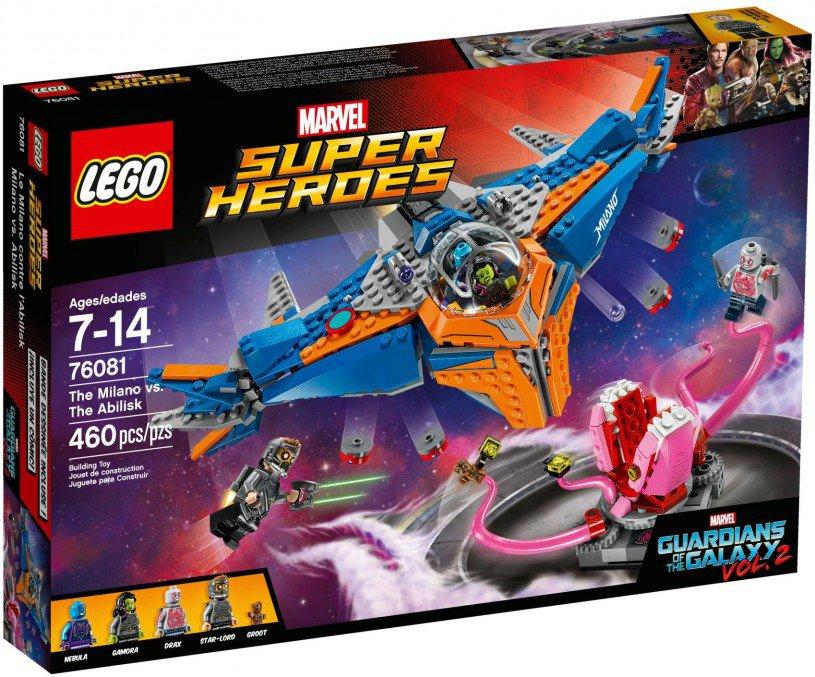 LEGO 76081 Super Heroes The Milano vs. The Abilisk Doos