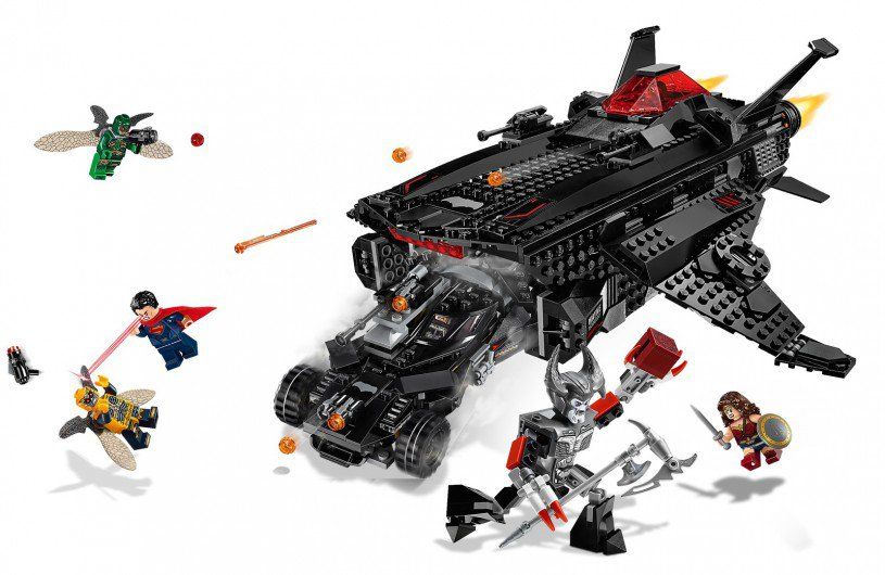 LEGO 76087 Super Heroes: Flying Fox: Batmobile luchtbrugaanval