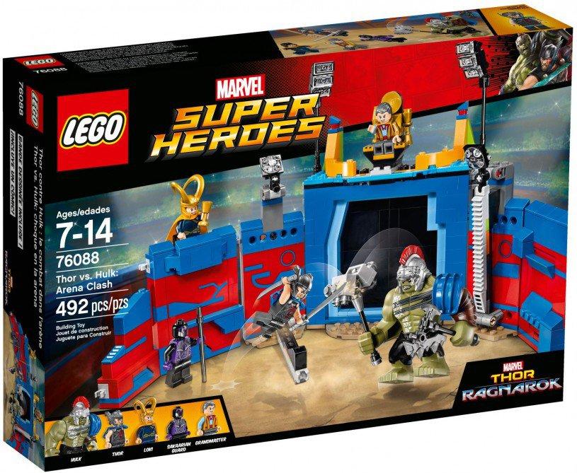 LEGO 76088 Super Heroes: Thor vs. Hulk: arenagevecht