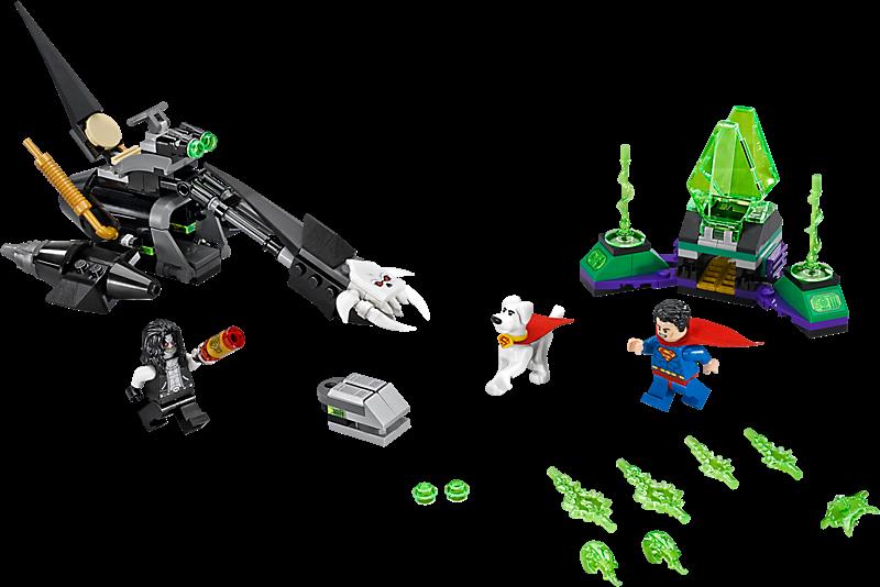 LEGO 76096 Super Heroes: Superman en Krypto werken samen