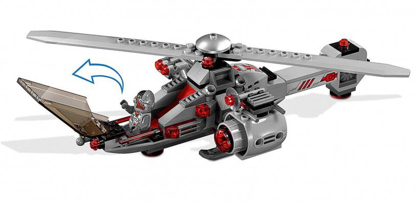 LEGO 76098 Super Heroes: The Flash Speed Force vriesachtervolging