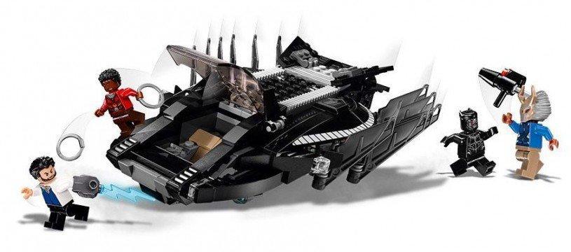 LEGO 76100 Black Panther: Koninklijke klauwvechteraanval