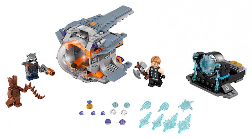 LEGO 76102 Super Heroes: Thor`s wapenzoektocht