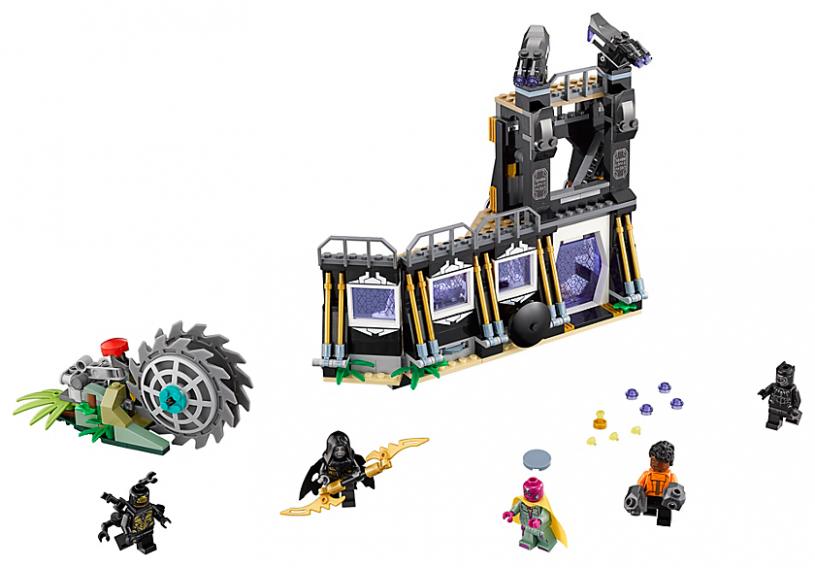LEGO 76103 Super Heroes: Corvus Glaive thresheraanval