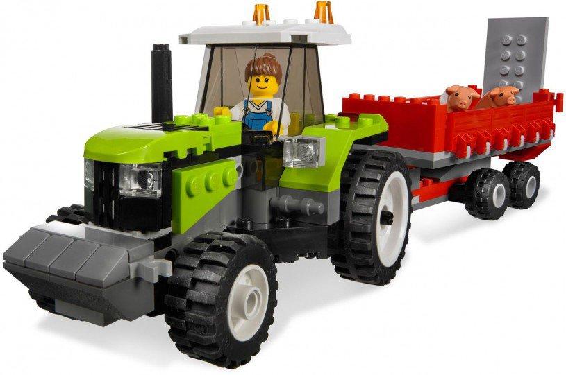 LEGO Varkensboerderij en Tractor 7684