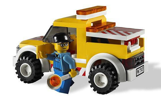 LEGO Windmolen- Wind Turbine Transport 7747